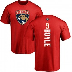 Men's Brian Boyle Florida Panthers Backer T-Shirt - Red