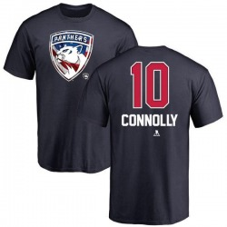 Youth Brett Connolly Florida Panthers Name and Number Banner Wave T-Shirt - Navy